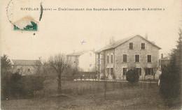 "CPA FRANCE 38 ""Nivolas, Etablissement Des Sourdes Muettes Maison St Antoine"". - Sonstige Gemeinden"