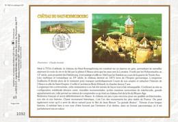 """"""" CHATEAU DE HAUT-KOENIGSBOURG  """" Sur Feuillet CEF 1er Jour De 1999. N° 3245. Parfait état FDC - Bridges"""