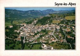 Seyne Les Alpes Vue Generale Aerienne  1991   CPM Ou CPSM - Other Municipalities