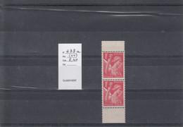 Variété - YT 433 A - Variedades: 1931-40 Nuevos