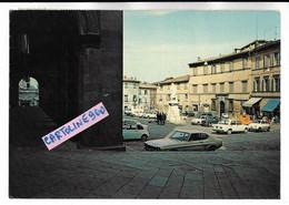 Lazio-viterbo-acquapendente Piazza Girolamo Fabrizio Veduta Piazza Negozi Auto Epoca Animata - Other Cities