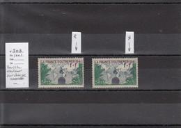 Variété - YT 503 - Couleur Surcharge - Variétés: 1941-44 Oblitérés