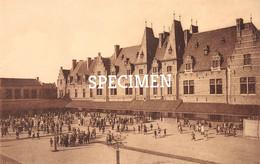 Rijksmiddelbare School Atheneum - Speelplaats Voor De Jongens - Kortrijk - Courtrai - Kortrijk