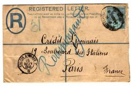 42514 - Recommandée Pour La France - Briefe U. Dokumente