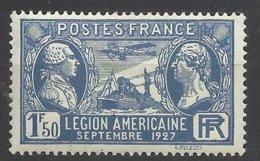 France N° 245  Légion Américaine      Neuf *  TB  = MH  VF   Soldé  à  Moins De 15%  ! ! ! - Nuovi