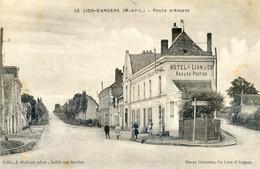49 - Le Lion D'Angers - Route D'Angers - Hotel Lion D'or - Saulou Poutier - Altri Comuni