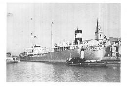 """Photo Bateau Identifié """" Saint Gobain """" Affrété Raffinerie De Berre 1936 """" Hambourg """" ALLEMAGNE Ex"""" Régulus """" 1936.39 - Boten"""
