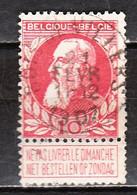 74  Grosse Barbe - Bonne Valeur - Oblit. Centrale BOIS-DE-VILLERS - LOOK!!!! - 1905 Thick Beard