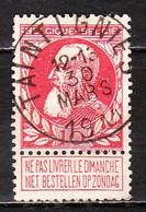 74  Grosse Barbe - Bonne Valeur - Oblit. Centrale TAINTIGNIES - LOOK!!!! - 1905 Thick Beard