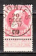 74  Grosse Barbe - Bonne Valeur - Oblit. Centrale OIGNIES - LOOK!!!! - 1905 Thick Beard