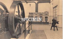 Machinezaal Met Dieselmotor Alternator En Distributiebord - De Vrije Beroepsschool - Kortrijk - Courtrai - Kortrijk