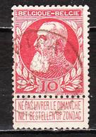 74  Grosse Barbe - Bonne Valeur - Oblit. Centrale PIPAIX - LOOK!!!! - 1905 Thick Beard