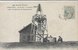 88, Vosges, GERARDMER, Au Sommt Du Honneck, Table D'Oriantation Et Triangulation, Personnages,,  Scan Recto-Verso - Gerardmer
