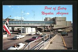 AK Nogales, Grenze Von Arizona Nach Mexiko - Customs