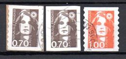 N-3  France Oblitéré N° 5 + 6 + 8  à 10 % De La Côte. A Saisir !!! - Adhesive Stamps