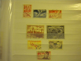 LOT PA N° 17 18 19 28 29 32 34 37 TIMBRES PROPRES VOIR SCAN - 1927-1959 Used