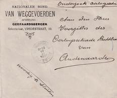 Chambre Du Tribunal Des Dommages De Guerre Geraardbergen Audenaarde 1921 - Guerra 1914-18