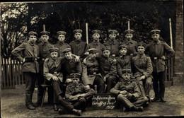 Photo CPA Köln Am Rhein, Deutsche Soldaten Im Kaiserreich, Gruppenbild, 1918 - Andere