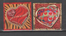 FRANCE / 2006 / Y&T N° 3863/3864 ** Ou AA 72/73 ** : Coeur Scherrer (TVP Adhésifs LP 20g & 50g) X 1 Paire - Adhesive Stamps