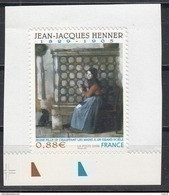 Jean Jacques Henner, AUTO ADHESIF N° 223,  2008  Neuf **   Grande Marge - Adhesive Stamps