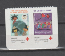 FRANCE / 2007 / Y&T N° 4125/4126 ** Ou P4125 ** Ou AA 145/146 **  Ou P145 **: Croix-Rouge (2 TVP LP) X 1 Paire - Adhesive Stamps