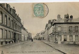 60  CHANTILLY  Rue Du Connétable Près De L'église - Chantilly