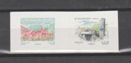 FRANCE / 2014 / Y&T N° AA 1024/1025 ** : Du Carnet Salon Planète Timbres (Coaraze/Locmariaquer) X 1 - Adhesive Stamps
