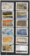 2018 - 194 - 1502 à 1513 - De La Nature à L'oeuvre D'art - Oblitéré - Adhesive Stamps