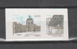 FRANCE / 2014 / Y&T N° AA 1023 ** : Du Carnet Salon Planète Timbres (Congrès FFAP Avec Vignette) X 1 - Adhesive Stamps