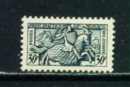 MONACO  -  1951Seal Of Rainier III 30f Unmounted Never Hinged Mint - Unused Stamps