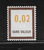 FRANCE  ( FFIC - 36 )  1972  N° YVERT ET TELLIER  N° F190   N** - Ficticios