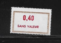 FRANCE  ( FFIC - 43 )  1972  N° YVERT ET TELLIER  N° F196   N** - Ficticios