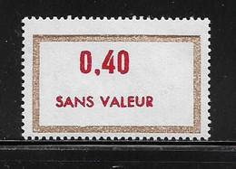 FRANCE  ( FFIC - 44 )  1972  N° YVERT ET TELLIER  N° F196   N** - Ficticios