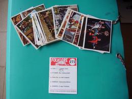 Lot Chromos Images Vignettes Panini *** Folklore *** Année 70 - Albumes & Catálogos