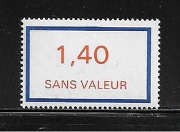 FRANCE  ( FFIC - 45 )  1976  N° YVERT ET TELLIER  N° F206   N** - Ficticios