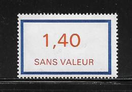 FRANCE  ( FFIC - 46 )  1976  N° YVERT ET TELLIER  N° F206   N** - Ficticios