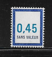 FRANCE  ( FFIC - 47 )  1976  N° YVERT ET TELLIER  N° F209   N** - Ficticios