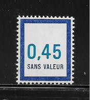 FRANCE  ( FFIC - 48 )  1976  N° YVERT ET TELLIER  N° F209   N** - Ficticios