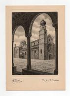 Trento - Il Duomo - Illustratore Bellini - Non Viaggiata - (FDC27965) - Trento