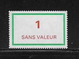 FRANCE  ( FFIC - 52 )  1976  N° YVERT ET TELLIER  N° F212   N** - Ficticios