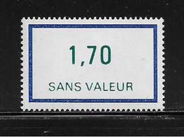 FRANCE  ( FFIC - 53 )  1976  N° YVERT ET TELLIER  N° F214   N** - Ficticios