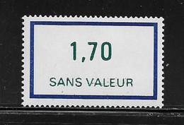 FRANCE  ( FFIC - 54 )  1976  N° YVERT ET TELLIER  N° F214   N** - Ficticios