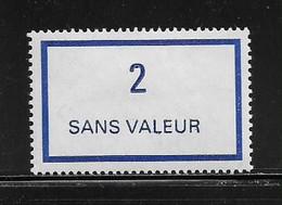 FRANCE  ( FFIC - 55 )  1976  N° YVERT ET TELLIER  N° F215   N** - Ficticios