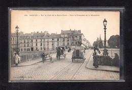 (23/01/21) 44-CPA NANTES - SUR LE PONT DE BELLE CROIX - VERS LA CHAUSSEE DE LA MADELEINE - Nantes
