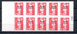 RC 19882 ST PIERRE ET MIQUELON COTE 15€ N° C557 CARNET BRIAT NEUF ** MNH TB - Carnets