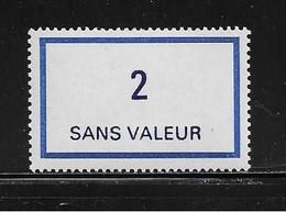 FRANCE  ( FFIC - 56 )  1976  N° YVERT ET TELLIER  N° F215   N** - Ficticios