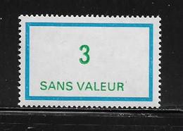 FRANCE  ( FFIC - 57 )  1978  N° YVERT ET TELLIER  N° F216   N** - Ficticios