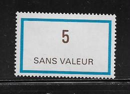 FRANCE  ( FFIC - 59 )  1978  N° YVERT ET TELLIER  N° F217   N** - Ficticios