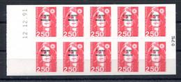 RC 19884 ST PIERRE ET MIQUELON COTE 15€ N° C557 CARNET BRIAT COIN DATÉ DU 12.12.91 NEUF ** MNH TB - Carnets