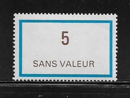 FRANCE  ( FFIC - 60 )  1978  N° YVERT ET TELLIER  N° F217   N** - Ficticios